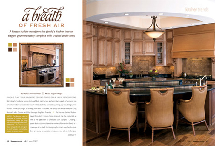 As seen in Washington-Virginia HouseTrends Magazine!
